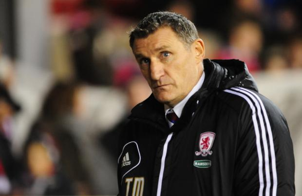IMPRESSED: Tony Mowbray