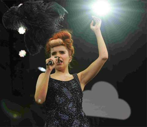 Tree-mendous: Paloma Faith