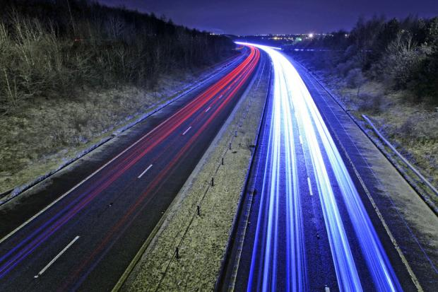 TRAVEL CHEER: The A1 at Scotch Corner, North Yorkshire. The road to benefit from a major upgrade