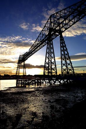 REVAMP WORK: The Transporter Bridge