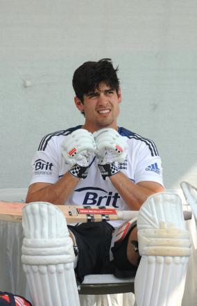 RECORD BREAKER: Alastair Cook yesterday broke a 73-yearold record for the most hundreds by an Englishman