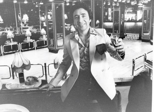 The Northern Echo: CLUB TYCOON: Michael Quadrini, who opened floating nightclub the Tuxedo Princess