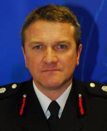 WATER TROUBLE: North Yorkshire Fire and Rescue Service chief officer Nigel Hutchinson