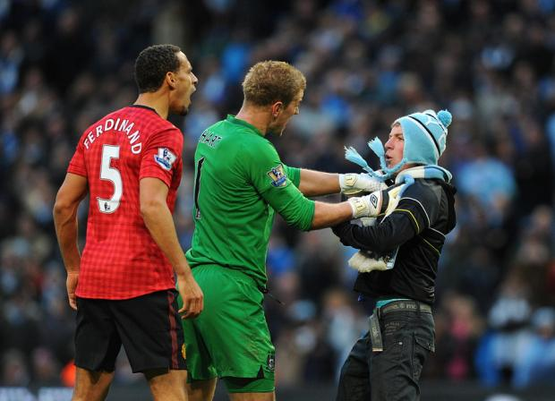 The Northern Echo: Joe Hart's intervention as a Manchester City fan approaches