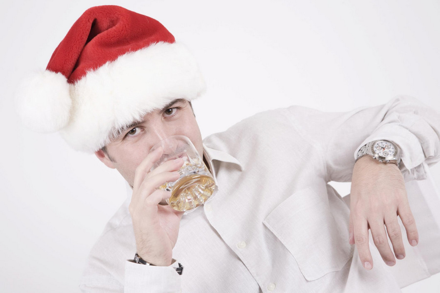 Watch your alcohol consumption over Chrustmas