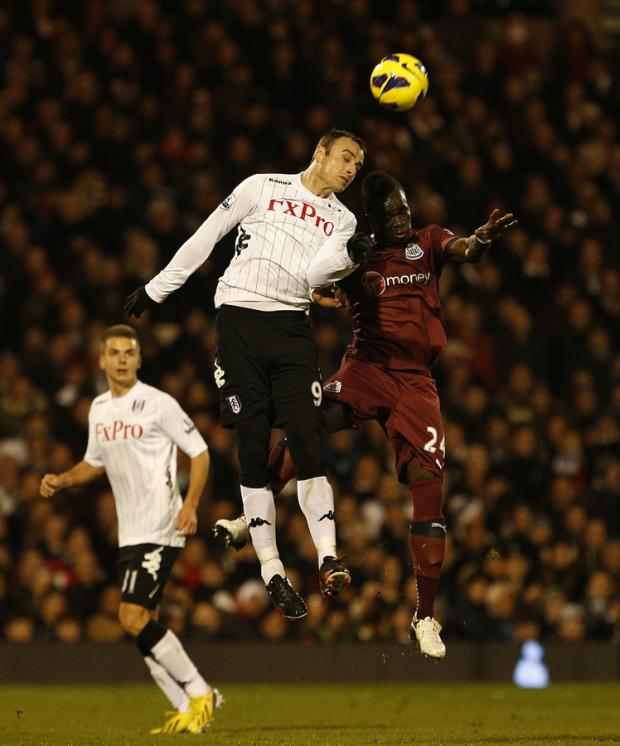The Northern Echo: HEAD BOYS: Dimitar Berbatov and Cheick Tiote