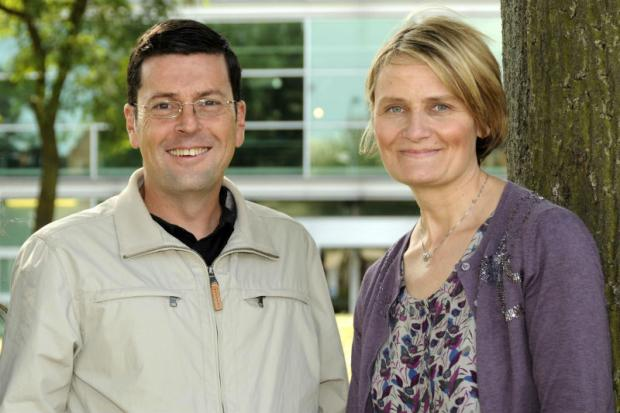 Professor Robert MacDonald and Professor Tracy Shildrick, from Teesside University