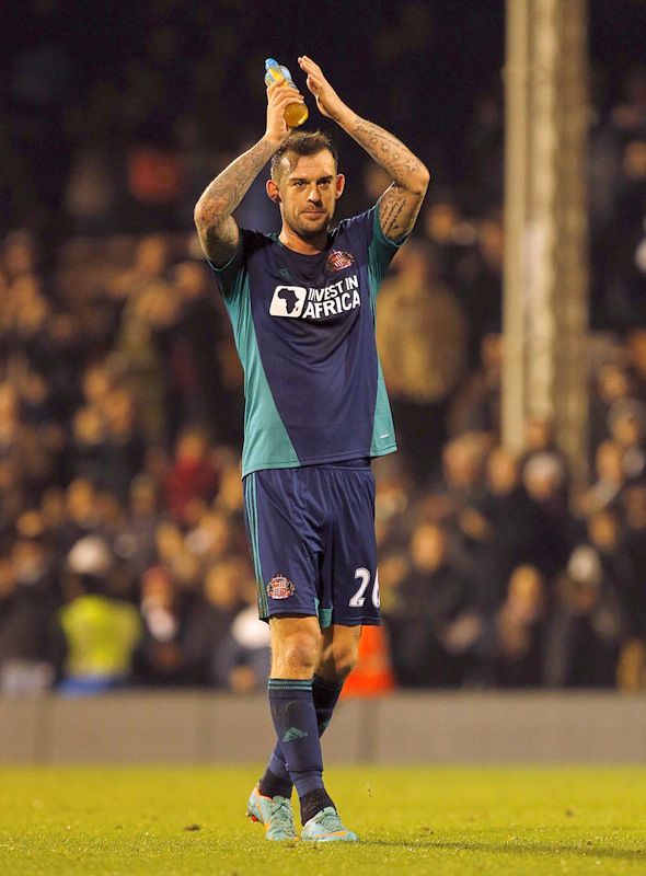 VITAL: John O'Shea says Sunderland are keeping their fingers crossed that Steven Fletcher, pictured, remains fit