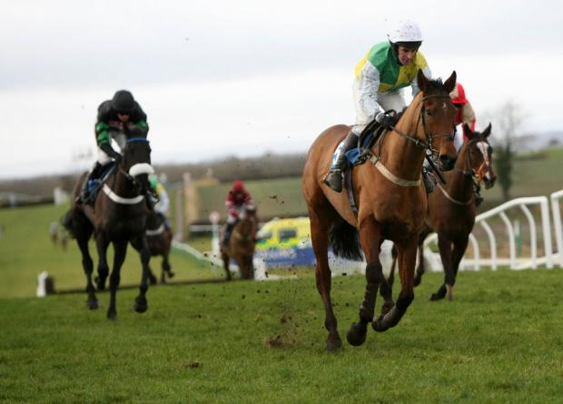 FOUR TOPS: Fourjacks wins the 12.40 Jardines Catering Novices' Hurdle Race (class 4) at Sedgefield