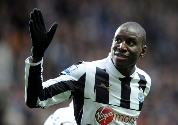 ONE IN, ONE OUT: Demba Ba completes his move to Chelsea as Newcastle sign full back Mathieu Debuchy