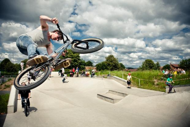 Thirsk8 Skate park, which opened earlier this year.