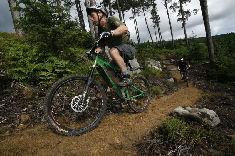 ACCLAIMED TRAILS: Kielder is developing a reputation as a m