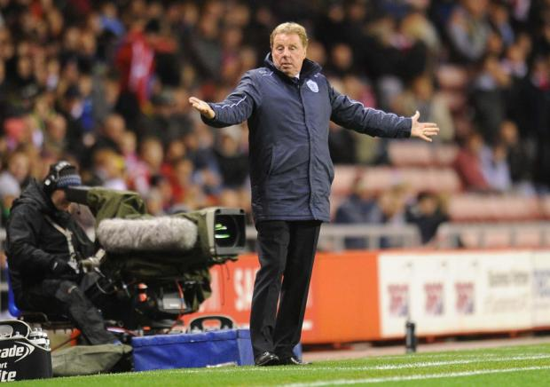 THE TRANSFER WINDOW KING: Harry Redknapp, the QPR boss, is going to be busy