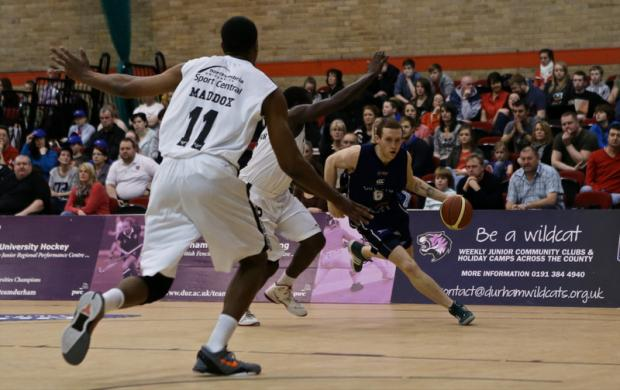 STARRING ROLE: Wildcats' Keith Page on the attack against Cheshire