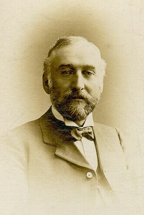 LOOKING BACK: Thomas Manners, who founded the company in 1860