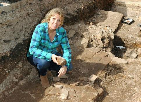 Philippa Langley, 50, originally from Hummersknott, Darlington, at the dig