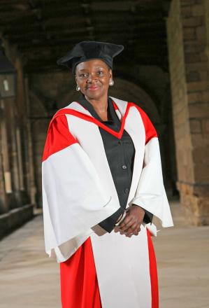 HUMANITARIAN WORK: UN official Baroness Valerie Amos at Durham University yesterday