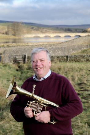 RISING TO THE CHALLENGE: David Dye, the new conductor of Middleton and Teesdale Silver Band