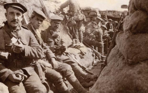 The Northern Echo: IN ACTION: DLI soldiers in the First World War