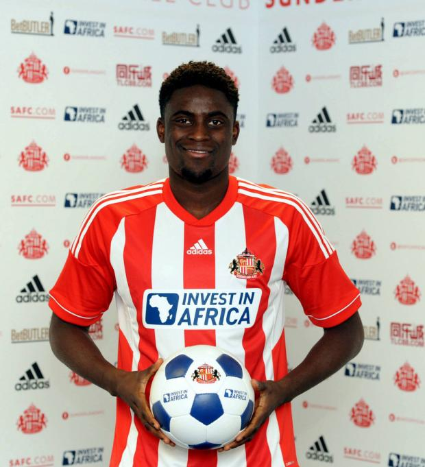 SET TO MAKE AN IMPACT: New signing N'Diaye