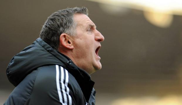 CONTRASTING FORTUNES: Tony Mowbray saw his team lose to Gianfranco Zola's Watford