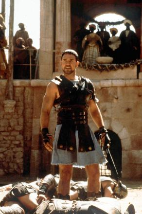 ASPIRING FILM-MAKERS WANTED: A scene from Middlesbrough-born Ridley Scott's Gladiator, starring Russell Crowe as Roman general-turned-slave-turned-gladiator Maximus.