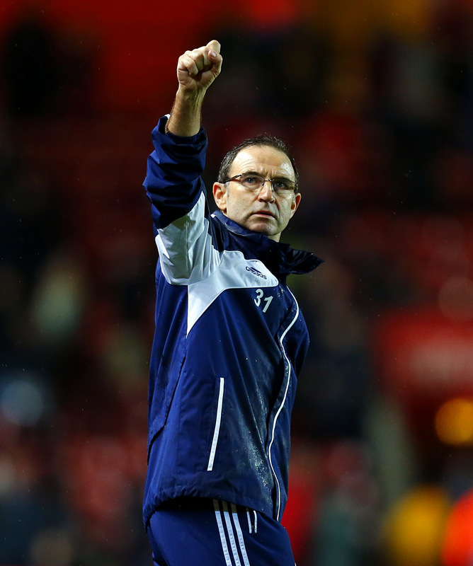 UP FOR THE CUP: Sunderland boss Martin O'Neill