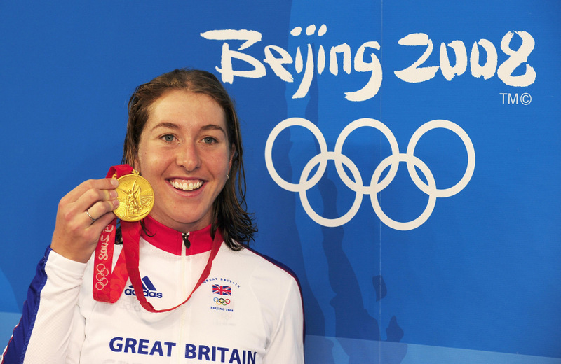 GOLDEN GIRL: Nicole Cooke won Olympic gold in 2008