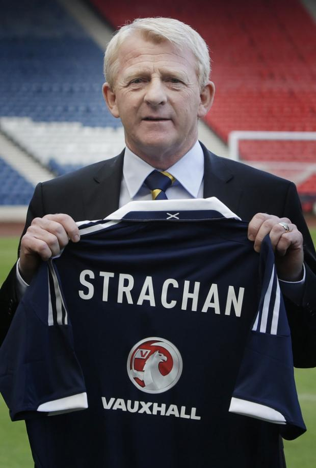 NEW JOB: Gordon Strachan