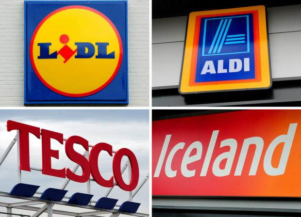 The burgers were on sale at Tesco, Lidl, Aldi, Iceland and Dunnes stores
