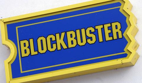 Blockbuster is to close 129 stores