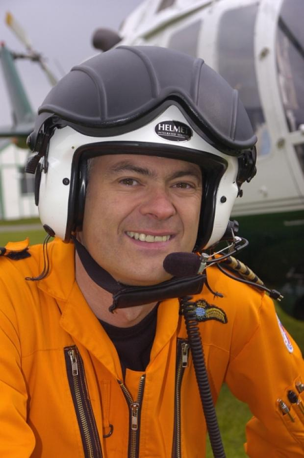 GOOD GUY: Former air ambulance pilot, Captain Pete Barnes