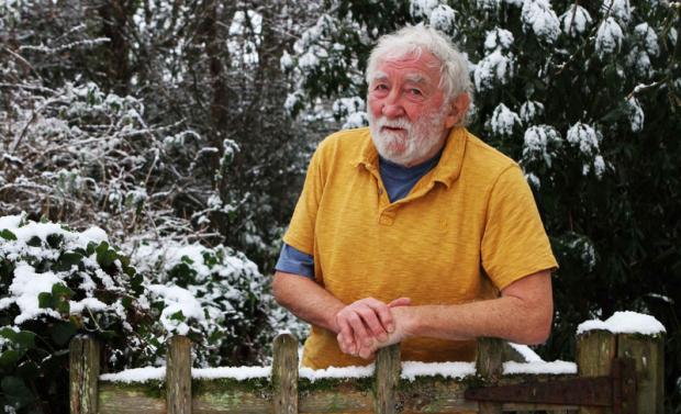 LANDMARK DATE: Dr David Bellamy, who will today celebrate his 80th birthday
