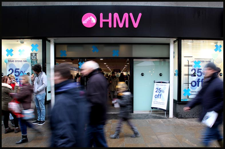 HMV administrators have confirmed they will accept gift cards from tomorrow
