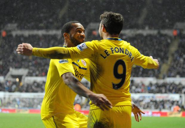 The Northern Echo: ROYAL RUMBLE: Le Fondre celebrates his goal