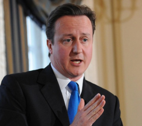 David Cameron - backing gay marriage