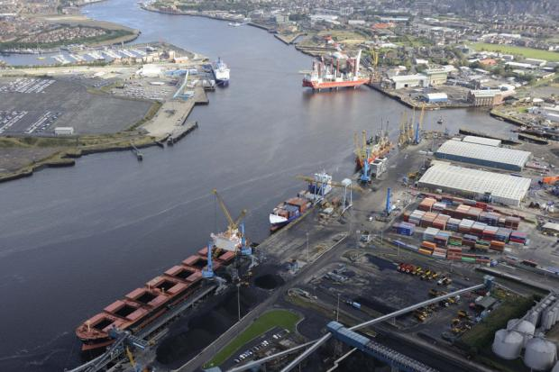 GROWTH PLANS: Port of Tyne's Riverside Quay