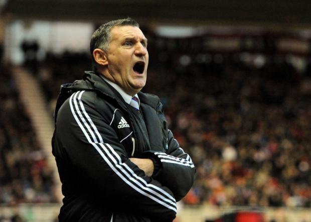 NO NEW RECRUITS: Middlesbrough manager Tony Mowbray says he is not in a position to sign any players before Thursday's transfer deadline