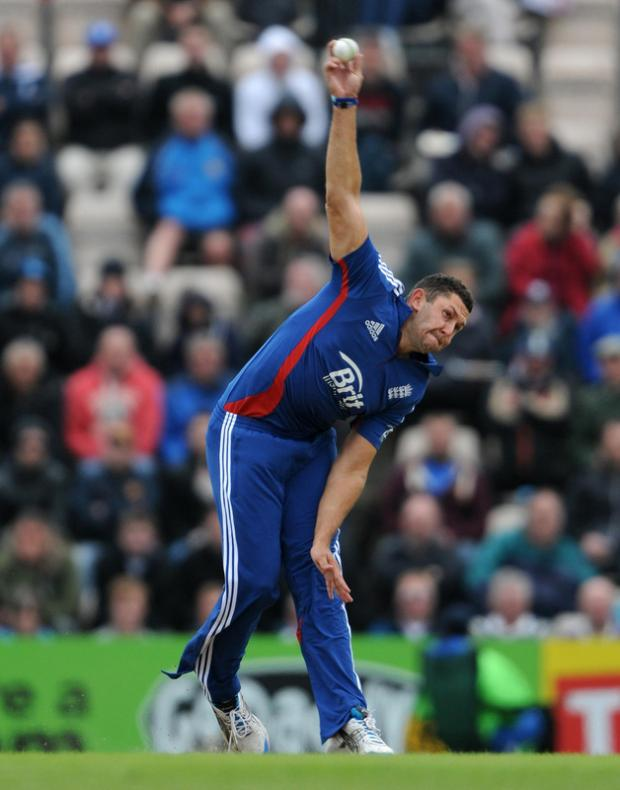 The Northern Echo: INJURED: Tim Bresnan has been replaced by Chris Woakes