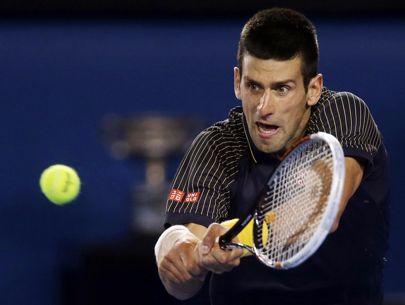 BOWING OUT: Novak Djokovic suffered a shock defeat in the last eight
