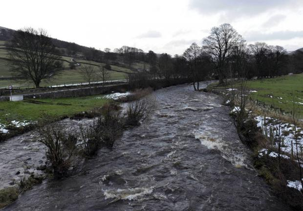 River Arkle, near Reeth, where canoeist Matthew Parker tragically died