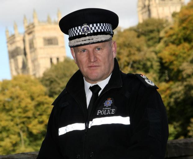 NOMINATED: Temporary Chief Constable Mike Barton