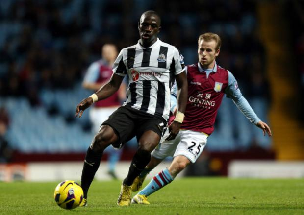 New signing Moussa Sissoko set up Papiss Cisse to open the scoring