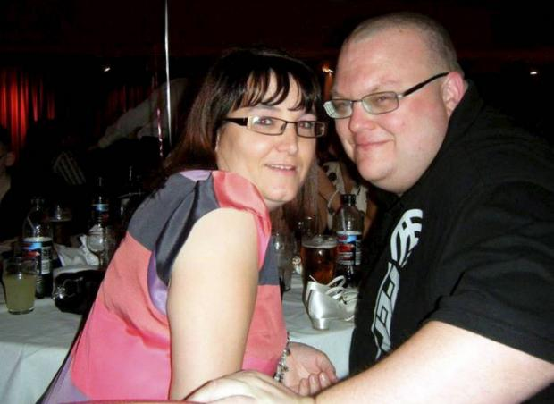HOPING FOR A SOLUTION: Julie and Mark Bell are facing a bill for their daughter's bedroom under new Government rules