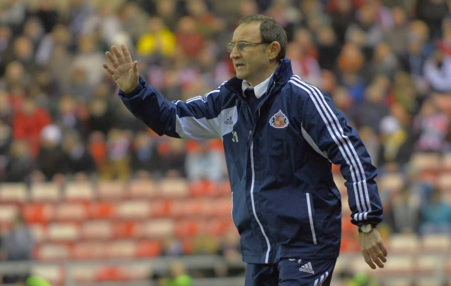 LOOKING FOR A LIFT: Martin O'Neill