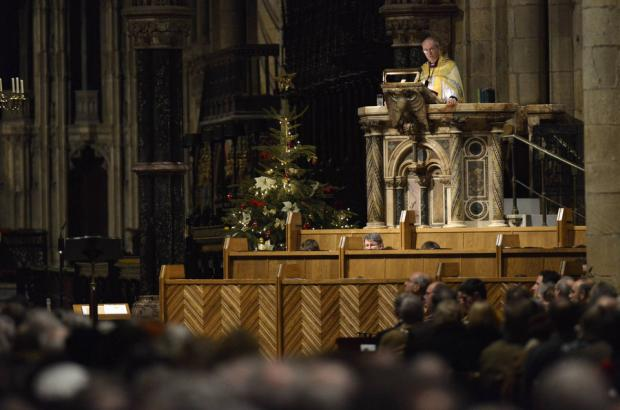 GOING: Bishop Welby's farewell to Durham Cathedral
