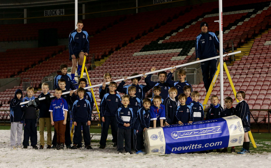 READY FOR ACTION: Dquad members from Mowden Rugby Club's ac