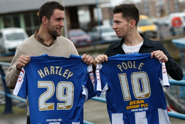 Peter Hartley and James Poole today