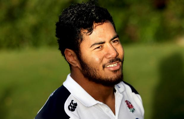 POISED FOR A RETURN: England powerhouse Manu Tuilagi