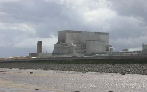 DIFFICULT TIMES: Hinkley Point, in Somerset